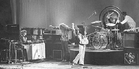 Led Zeppelin in L.A. with Keith Moon