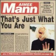 Aimee Mann, 'That's Just What You Are'