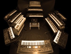 Keyboards used on 'First Stage'